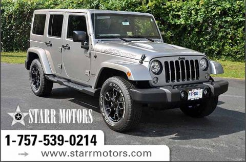 New 2017 Jeep Wrangler Unlimited Sahara Sport Utility In